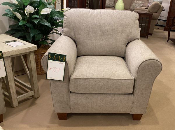 Picture of ANNABEL SOCK ARM CHAIR W/LEG