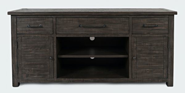 """Picture of MADISON COUNTY 70"""" BARNDOOR CONSOLE"""