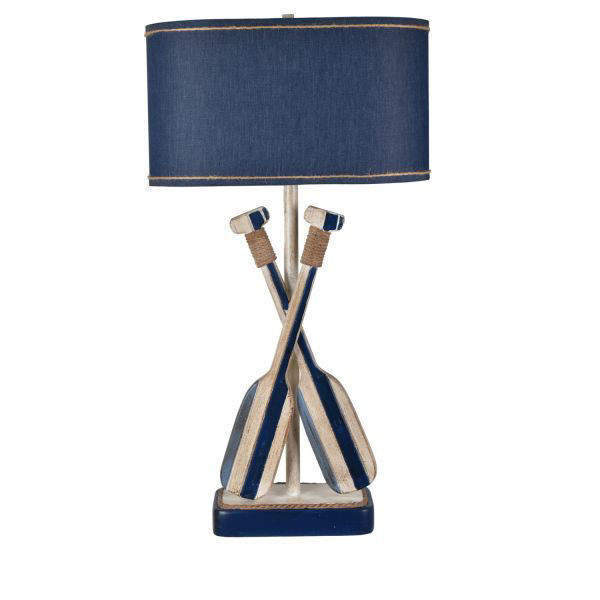 Picture of BOAT OAR TABLE LAMP