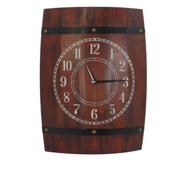 Picture of STOCK BARREL CLOCK