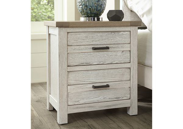 Picture of HIGHLANDS 2-DRAWER NIGHTSTAND