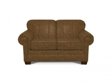 Picture of MONROE LEATHER LOVESEAT