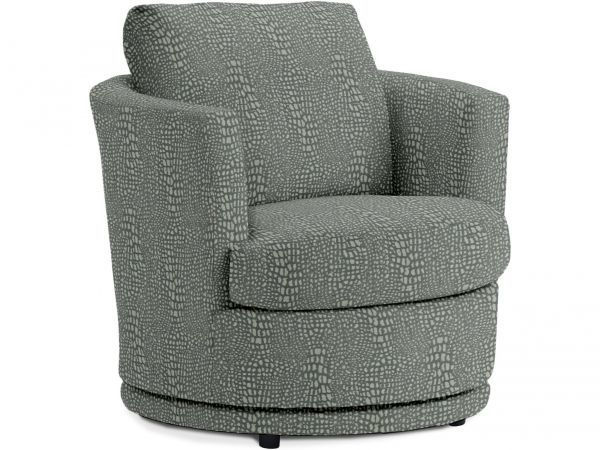 Picture of TINA SWIVEL BARREL CHAIR