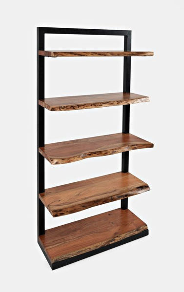 Picture of NATURES EDGE 5 SHELF BOOKCASE