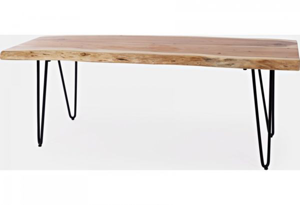 """Picture of NATURES EDGE 48"""" LIVE EDGE BENCH"""