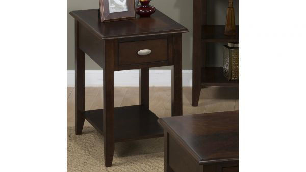 Picture of MERLOT CHAIRSIDE TABLE
