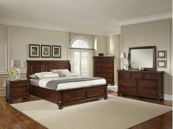 Picture of REFLECTIONS QUEEN SIZE STORAGE BED