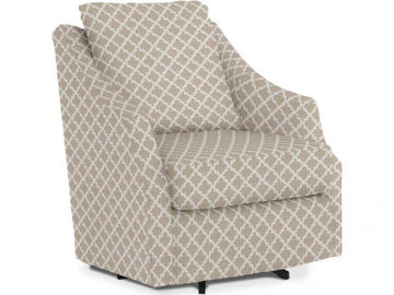Picture of FLUTTER SWIVEL BARREL CHAIR