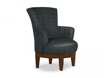 Picture of JUSTINE SWIVEL BARREL CHAIR