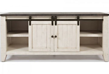 "Picture of MADISON COUNTY  60"" BARN DOOR MEDIA CONSOLE"
