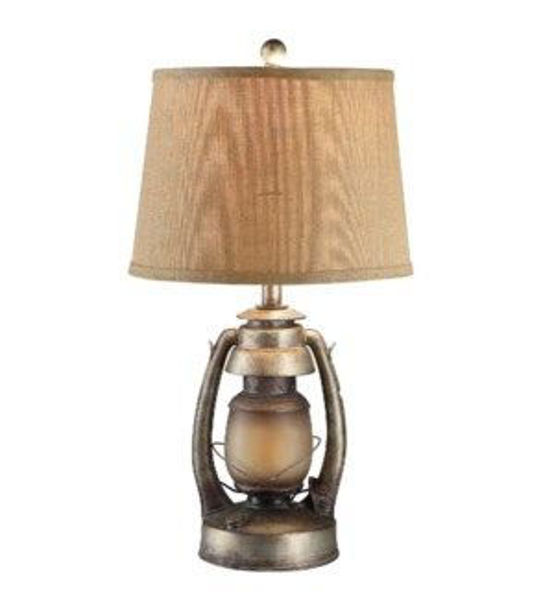 Picture of OIL LANERN TABLE LAMP
