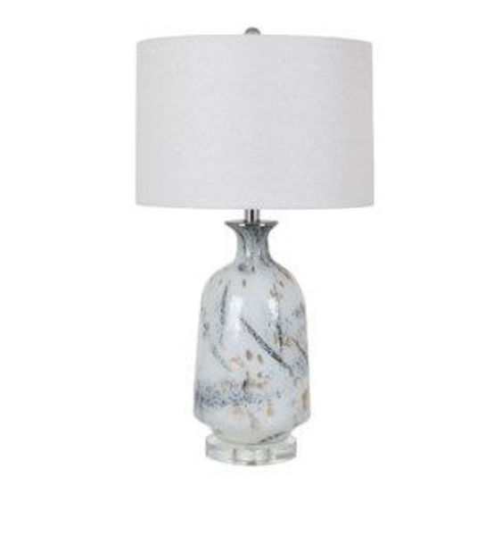 Picture of CANTOR HAND FINISHED TABLE LAMP