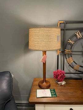 Picture of WOOD TABLE LAMP