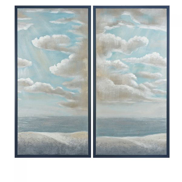 Picture of MIDSUMMER VIEWS-MORE CLOUDS